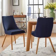 Sasha Oak Barrel Back Dining Chair (Set of 2) iNSPIRE Q Modern (Tawny Port  Red) (Foam)