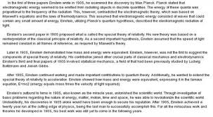 example essay writing on albert einstein sample essay on albert einstein 467 words