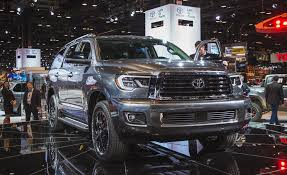 2018 toyota sequoia. exellent sequoia 2018 toyota sequoia the ancient behemoth gets updated with toyota sequoia y