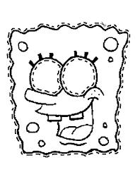 Stampa Disegno Di Maschera Di Spongebob Da Ritagliare Da Colorare