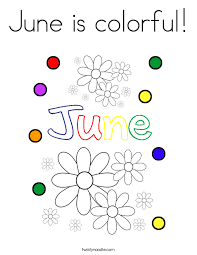hello june coloring page twisty noodle