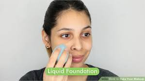 image led bake your makeup step 1