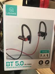 Tai nghe bluetooth Usams YD004 V5.0 móc tai 2 bên thể thao, Nghe gọi &