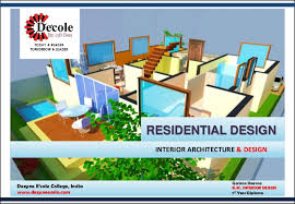 Bsc In Interior Design And Decor Inside Designing Course