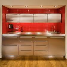 Stainless Steel Kitchen Furniture 30 Popular Stainless Steel Kitchen Cabinets You Need To Know
