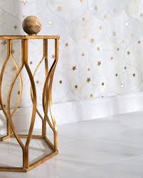 think sophisticated astronomy and zodiac patterns star strewn plates galaxy murals galactic surfaces and cosmic tile work from subtle hints to all out