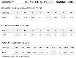 Speedo Tankini Size Chart Speedo Lzr Racer Elite 2 Jammer 17