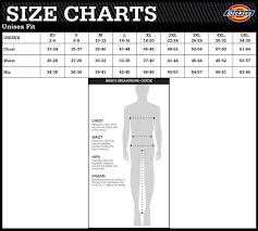 Unisex Lab Coat Size Chart