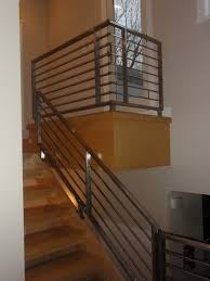 Stainless Steel Railings Contemporary Staircase Philadelphia