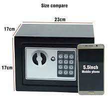 small jewelry safe placeholder digital safe box small household mini steel safes money bank safety security small jewelry safe