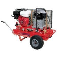 compresor de aire de gasolina. compresor de aire, pistón a gasolina 17+17l 9 cv 10 bares uniair aire i