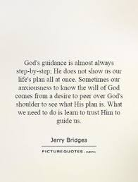 God's Guidance Quotes
