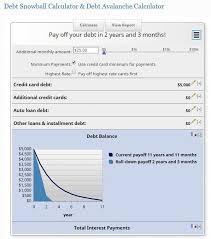 Online Debt Snowball Calculator Debt Snowball Calculator Major Magdalene Project Org