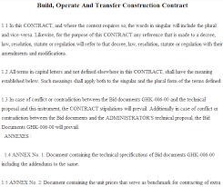 Build Operate Transfer Agreement Template Build Operate Transfer ...