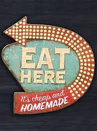 retro diner kitsch kitchen wall art this fun vintage inspired metal wall sign is perfect for your retro themed kitchen made of embossed metal tin  on retro diner kitsch kitchen wall art with retro diner kitsch kitchen wall art this fun vintage inspired