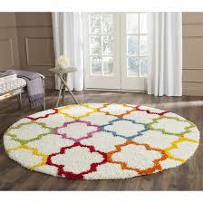 sasha rainbow kids area rug reviews allmodern for top kids room area rugs