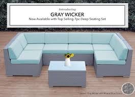 Nice Gray Wicker Patio Furniture and Siteohanawickerfurniture Blog