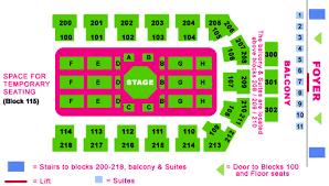 Metro Radio Arena Seating Chart Metroradio Arena Newcastle Seating Plan View The Seating