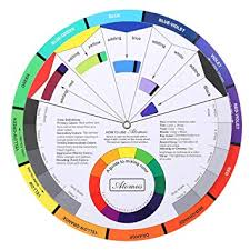 Amazon Com Tattoo Pigment Color Wheel Chart Supplies