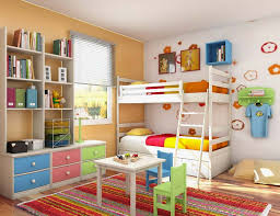 Kids Bedroom For Small Spaces Impressive Photo Of 7 Kids Bedroom Interior Design Ideas For Small