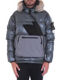 coats jackets stone island man 6715 43421 v0060 grigio clothing stone island man stylemid contemporary