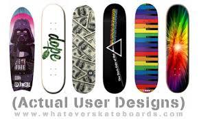 Skateboards Designs Custom Skateboard Design Yours Online Whatever Skateboards