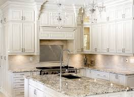 white antique kitchen cabinets with white wall ideas