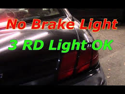 diagnose and repair no brake lights 3rd brake light works diagnose and repair no brake lights 3rd brake light works