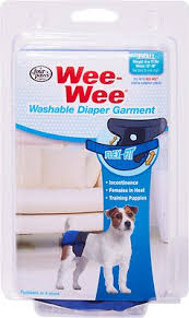 Wee Wee Diapers Size Chart Wee Wee Washable Dog Diaper Garment Xx Small