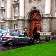 Decorating trinity doors pics : Meanwhile, At Trinity | Broadsheet.ie