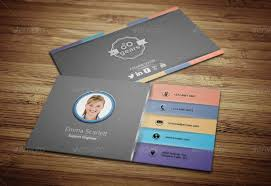 89 Business Card Templates Pages Indesign Psd