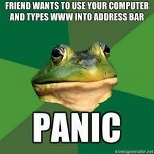 foul-bachelor-frog-funny-meme-panic-Favim.com-155781 - via Relatably.com
