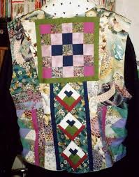522 best QUILTED CLOTHES images on Pinterest | Patchwork, Quilted ... & My East-West Seminole vest - back Adamdwight.com