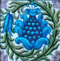 Arts And Crafts Decorative Tiles Arts Crafts William De Morgan Heron Fish Tiles Bathroom Kitchen 86