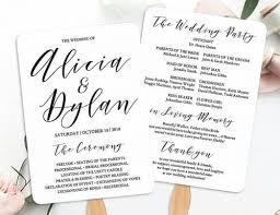 Wedding Ceremony Program Cover 7 Main Wedding Program Wording Rules For Your Perfect Ceremony