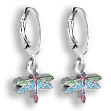 dragonfly earrings for women and s hoop earrings dragonfly jewelry jewelry for s and tweens dragonfly gifts for women small earrings for