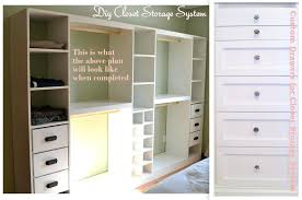 closet organizer storage system and custom drawers my dream diy walk in ideas how to build your own drawers diy closet walk in organizer