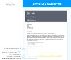 The Best Cover Letter How To End A Cover Letter Sample Complete Guide [24 Examples] 18