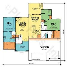 ranch house floor plans with 2 master suites luxury home plans with two master suites enjoyable