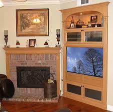 accommodate a modern flat panel tv