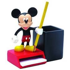 disney office decor. mickey mouse pencil and notepad holder disney office decor o