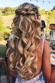 wedding hairstyles hair down wedding