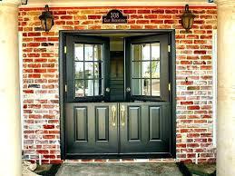 fiberglass double front doors exterior fiberglass double entry doors