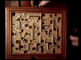 Wooden Maze Game With Ball Bearing Tilting Ball Maze YouTube 94