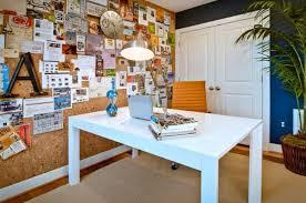 contemporary home office with a big cork board ideas cork board for office h66 board