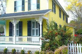 white front door yellow house. Grey House Yellow Door Dark Gray Exterior White Front