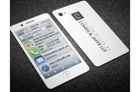 Design An Iphone Business Card By Daxtrader