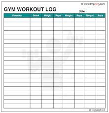Workout Log Template Workout log excel template cooperative see gym 24 webtrucks 1
