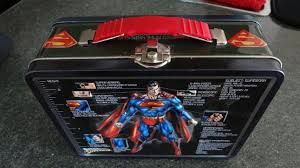 Super <b>Hero</b> Analysis Subject: Superman Rare <b>Vintage Metal Tin</b> ...
