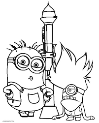 Small Picture Printable Despicable Me Coloring Pages For Kids Cool2bKids